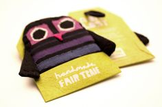 A Bit Lost by Christ Haughton fairtrade owl toy