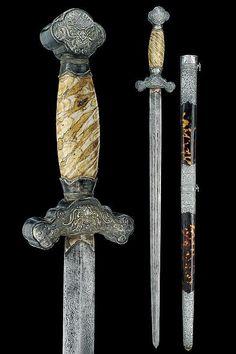 A Jian (sword), China 19th century.