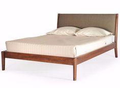 Lewis Mid Century Modern Platform Bed