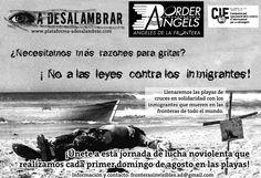 Cantabria: FRONTERAS INVISIBLES (Jornada de lucha no-violenta )