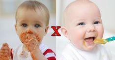 BLW X Papinha - uma comparação dos dois métodos e como eu usei juntos