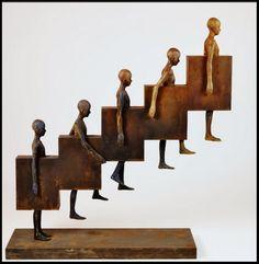 forma es vacío, vacío es forma: Escultura
