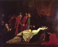 Edmund Blair Leighton, The Reconciliation of the Montagues and Capulets (1853-55)