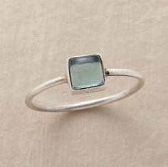 Storm at Sea ring from Sundance Catalog. This looks like a ring that a sea-widow would wear to remember a lost lover. (Maybe it just reminds me of the memorial poesy ring I pinned a long time ago.)