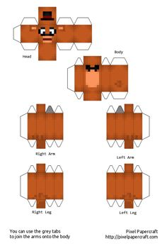 Night five nights at freddy s and papercraft on pinterest