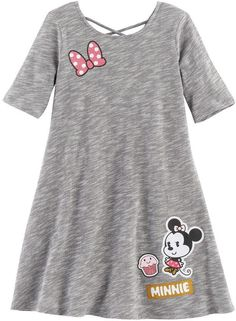 6acb121fd8 With a space-dyed texture and Disney s Minnie Mouse patches
