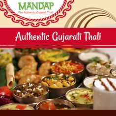 Authentic flavours of Gujarat.