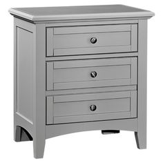 Perfect for displaying a bold lamp and stowing your favorite bedside read, this classic nightstand is a lovely addition to your master suite or guest room.