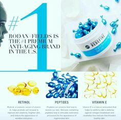 FUN FACT Friday!! Let's talk RETINOL: WHAT is it? WHAT does it do? WHAT is it in? WHY do you want it? FACTS: It is derived from Vitamin A and promotes rapid cell turnover. It's a proven skin treatment for skin issues ranging from acne to signs of aging. Rodan and Fields retinol produces it's dramatic results because of the special patent used used for the capsules it's carried in the products. Oxygen ruins the effectiveness of retinol therefore when using a pump container it becomes less