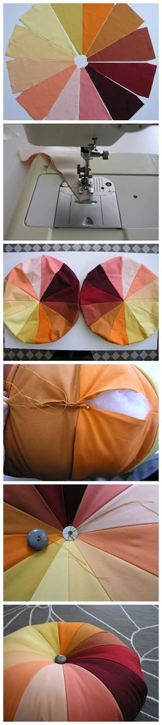 Tutorial for making a pouf