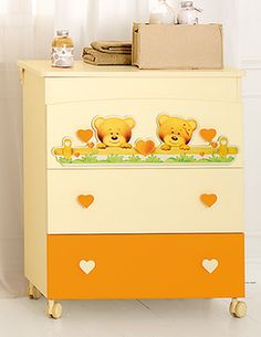 Lettino Baby Expert Cuore Panna Arancio Clients First Lettini