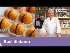 Lady's kisses are irresistible chocolate cookies, perfect at any time of the day! Italian Pastry Master Iginio Massari teach us the original recipe for perfe. Pastry Recipes, Cooking Recipes, Italian Recipes, New Recipes, Just Desserts, Dessert Recipes, Online Cookbook, Italian Cookies, Food Website