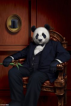 René Milot | DIGITAL ART | Panda Boss