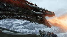 """Spoiler alert: This post contains mega spoilers for the latest episode of Game of Thrones, """"Beyond the Wall. Drogon Game Of Thrones, Game Of Thrones 3, Game Of Thrones Dragons, A Dance With Dragons, Got Dragons, Mother Of Dragons, Game Of Thrones Instagram, I Love Games, Iron Throne"""
