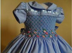 Beautiful Smocked Blue dress