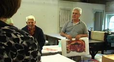 March 18 through May 8, 2010 at the Center for Contemporary Printmaking (Norwalk, CT)  CCP featured the work of two artists who have been married for 56 years but…