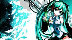 cool Hatsune Miku Wallpaper HD