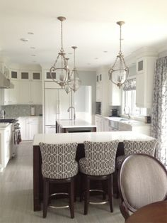 white kitchen | Rebecca Mitchell Interiors