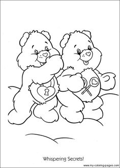Care Bears Coloring-004