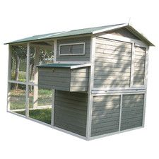 $910 Coops and Feathers™ Extreme Walk-In Hen Coop