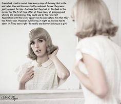 What a dream. Transgender, Feminize Me, Tg Caps, Fembois, Tg Captions, After Life, Sissy Boy, Look In The Mirror, Crossdressers