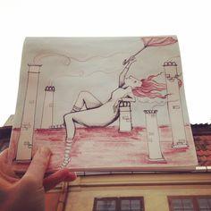 Quick one from Riga Latvia, Travel Drawing, Illustrators, Instagram Posts, Art, Art Background, Kunst, Illustrator, Performing Arts