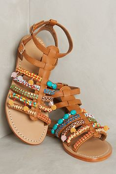 Mystique Santorini Sandals #anthropologie