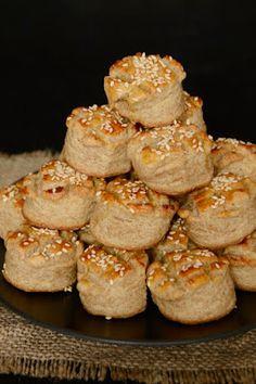Citromhab: Tönkölypogácsa Diabetic Recipes, Diet Recipes, Healthy Recipes, Savory Pastry, Best Party Food, Paleo, Healthy Cake, Winter Food, Breakfast Recipes