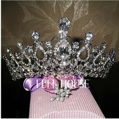 2013  popular    Bridal Heart Rhinestone Mini Round Full Circle Crown T1735-in Hair Jewelry from Jewelry on Aliexpress.com