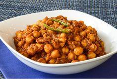 Kachi's Kitchen | Vegetarian Indian Recipes | Chickpea Masala