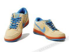 Nike Dunk Low SB Hemp Jersey Gold Cascade Blue