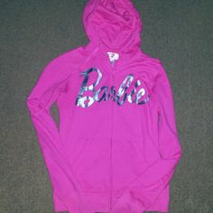Jackets & Coats - *Pink barbie hoodie*