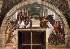 La Messa di Bolsena è un affresco (circa 660x500 cm) di Raffaello e aiuti, databile al 1512 e situato nella Stanza di Eliodoro, una delle Stanze Vaticane. Raffigura il miracolo eucaristico di Bolsena.
