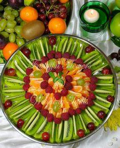 Kiwi fruit platter