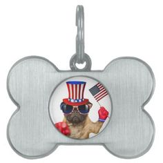 #I want you pug uncle sam dog pet ID tag - #pettag #pettags #dogtag #dogtags #puppy #dog #dogs #pet #pets #cute #doggie