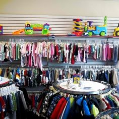 Resale 4 Kids is an awesome children's resale store for children newborn- big kids 14.We buy and sell gently used children's clothing , baby gear, toys, books, dvds, and more. We stock our racks daily and have all season's clothing out all year. We have a nice toy room for the kids to play in while you shop. Located at 75 High St. Danvers, Ma. 01923 (located in Mcdonald's Plaza) there is plenty of free parking available. For buying we pay cash up front and take all brands,...