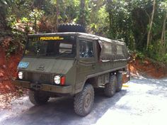 Tree Limin' Extreme: Pinzgauer at Tree Limin' Extreme. Click to read more!
