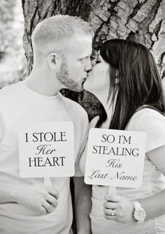 """oh dear goodness..this is just the cutest thing. 50 """"Save the Date"""" Photo Ideas