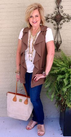 50 IS NOT OLD | VESTS ARE A GREAT FALL ADDITION