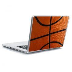 Αυτοκόλλητο laptop basket ball Laptop Stickers, Basketball, Netball