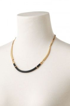 Marcell Collar Necklace by Stella & Dot, available on my personal website today!  Genuine leather hand wrapped around a vintage gold arc creates a bold, yet easy everyday collar necklace.