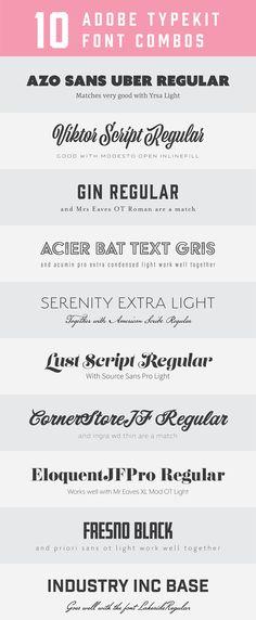 29 Best Font Pairings images Font pairings, Type design