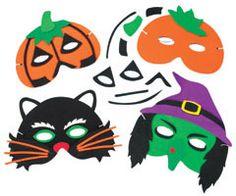 yellowmoon Halloween Foam Mask Craft Kits