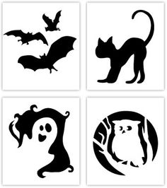 This owl silhouette is really cute!