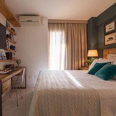 """Blog: casa décor festa & idea no Instagram: """"No quarto dele, destaque para o verde na parede, que deu aquele toque especial! Amei... {Projeto Patricia Wheeler Arquitetura} #homeandia #décor #decoração #Idea #ideia #quartodele"""""""