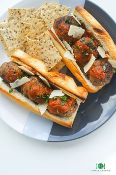 MEATBALL SUB — 1-2 Simple Cooking