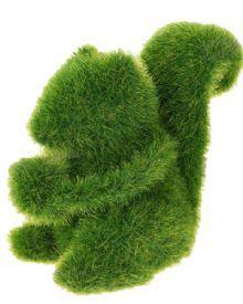 Esquilo Verde Decorativo. Ideal para decoração de casa é ecologicamente correto  É indicado para fadiga ocular em ambientes de escritório.  Produto importado. R$29,80