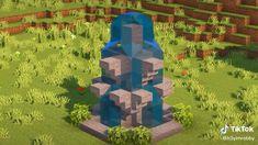Minecraft Park, Minecraft Garden, Minecraft Cottage, Cute Minecraft Houses, Amazing Minecraft, Minecraft Blueprints, Minecraft Crafts, Minecraft Buildings, Images Minecraft