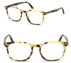 9ad85279ccf Tom Ford - 52MM Tortoise Square Optical Glasses