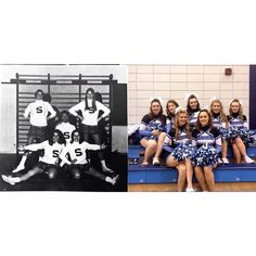 Whether it is 1982 or 2015, our @sheridanbruinscheerleading always has the most school spirit! Share your cheer moments with us using #SheridanTBT! #tbt @sheridan_college